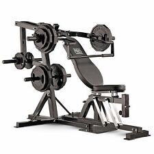Marcy Pro PM4400 Leverage Home Multi Gym Shoulder Press Lat Pull Squat Machine