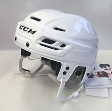 New CCM Resistance 100 NHL/AHL Pro Stock/Return medium M ice hockey helmet white