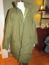 NOS SWEDISH MILITARY WINTER  FIELD PARKA NORSEL FABRIKS 1998 M7360-020000-3
