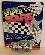Alan Kulwicki #7 Hooter's 1992 1/64 'Rare' Matchbox Superstars (Blank Trunk 1st