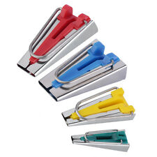 4 Size Fabric Bias Tape Maker Tool Kit Set 6mm/12mm/18mm/25mm Sewing Quilting F7