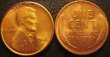 1946-S RED Gem Brilliant Uncirculated Lincoln Cent Essentially Eye Clean