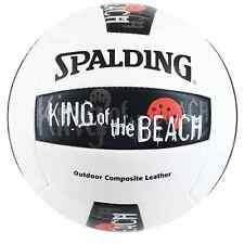 NIB King Of The Beach Spalding Volleyball Outdoor Composite Leather Ball SALE