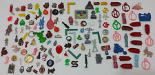 Lot 120+ Vintage Cracker Jack Gumball & Cereal Charms Toys Celluloid Metal More