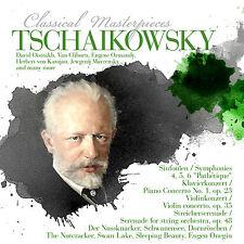 CD Tschaikowski Classical Obras maestras mit Herbert de Karajan 8CDS