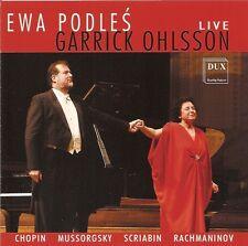Ewa Podleś • Garrick Ohlsson - Live