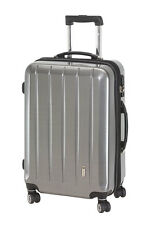 Trolley Boardcase 50 cm Koffer Trolly Handgepäck mit TSA London carbon silber