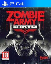 Zombie Army Trilogy (Playstation 4 PS4, Action Video Game) Brand New Sealed