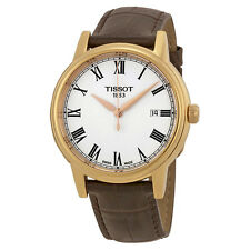 Tissot T-Classic Carson White Dial Rose Gold-tone Mens WatchT0854103601300