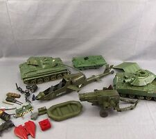 G.I. Joe 1983 Hasbro Vintage Vehicle Parts Pieces Tank Military Lot Ramp Cannon