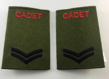 Official ACF CCF Corporal CPL RANK SLIDE for MTP ( Army Cadet Force CADETS