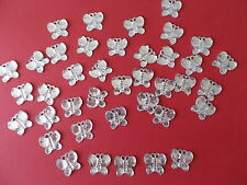 50 SILVER COLOUR BABY SHOWER CONFETTI TABLE SPRINKLES DECORATIONS . FREE P&P!!!