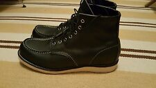 """Red Wing 9075 Classic Moc Toe 6"""" Boot - 12D Black"""
