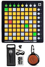 Novation LAUNCHPAD MINI MK2 MKII USB MIDI DJ Controller+Mic+Speaker