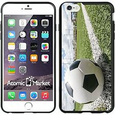 Soccer Ball On Chalk Line For Iphone 6 Plus 5.5 Inch Case Cover