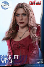 "ZC TOYS 1/6 Elizabeth Olsen Scarlet Witch Head For 12"" HT  Female Figure Body"