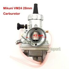 Mikuni VM24 Carb 28mm Carburetor For Kawasaki KX80 Dirt Motor Bike Motorcycle