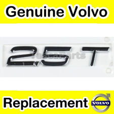Genuine Volvo 2.5T Tailgate Boot Emblem
