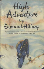 High Adventure, By Sir Edmund Hillary,in Used but Acceptable condition