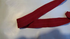 FOLDOVER Elastic Deep RED Chili 3/4 inch 10 yds Lingerie Baby Headbands