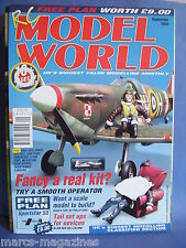 RCMW RC MODEL WORLD SEPTEMBER 2004 SPORTSTAR 53 PLANS SPITFIRE ELECTRIC F3A