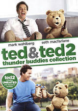 TED & TED 2 THUNDER BUDDIES...-TED & TED 2 THUNDER BUDDIES COLLECTION (2 DVD NEW