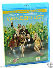 Wanderlust Blu-ray Regione B NUOVO SIGILLATO Jennifer Aniston Paul Rudd Commedia
