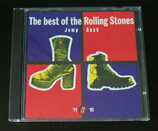 The best of the Rolling Stones JUMP BACK CD record 1993 IMPORT remastered 1 cent