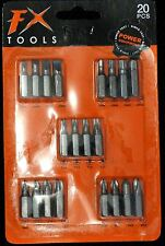NEW 20PCS MINI BIT SMALL DRILL SCREWS DRIVERS SET