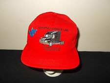 VTG-1990s Matheny Volvo & GMA West Virginia Trucker Tractor Trailer hat sku12