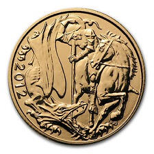 2012 Great Britain Gold Sovereign Coin - Brilliant Uncirculated - SKU #66623
