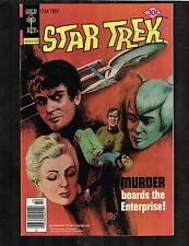 Star Trek #48 - Murder Boards the Enterprise! Gold Key ~ (9.2) WH