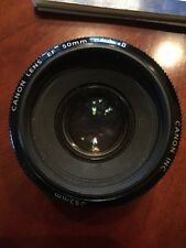 CANON EF 50mm f/1.8 II Lens, 35-80mm/4-5.6, 28-90mm/4-5.6 And A Macro 2.8