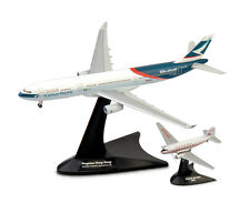 Herpa 1/500 Cathay Pacific A330-300 DC-3 Niki & Progress Hong Kong Set # 562089