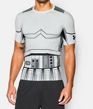 *NWT MENS UNDER ARMOUR STAR WARS STORMTROOPER COMPRESSION ROGUE ONE SHIRT XL !!!