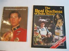 PRINCE CHARLES & LADY DIANNE LOT OF 4 BOOKLETS - SEE PICS - TUB OFC