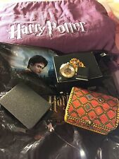 NWT! RARE HARRY POTTER QUIDDITCH LIMITED EDITION # 0690/2000 FOSSIL POCKET WATCH