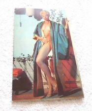 REAL PHOTO CARD SEXY NUDE MISS LILI ST. CYR  EL RANCHO VEGAS  1950'S