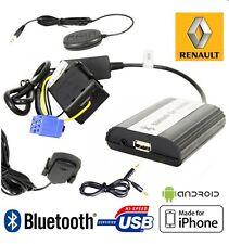 Boîtier USB / Auxiliaire / Bluetooth pour Renault Scenic 2, Grand scenic 2