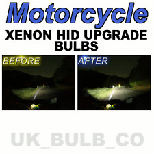 YAMAHA R1 R6 R7 XJS FZR TDM XENON HEADLIGHT BULBS H4