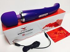 NEW Wireless wand 30 Speed Magic MASTER Massager Vibrating Massage Cordless PURP