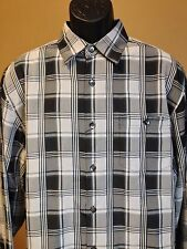 Axis LA Polyester Blend Multi-Color Plaid Shirt - NWT - Size Large