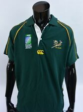 CANTERBURY SA RUGBY World Cup 2007 SPRINGBOKS SOUTH AFRICA Polo Shirt JERSEY /XL