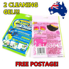 2 Super Clean Magic Dust Cleaning Compound Slimy Gel Keyboard Cleaner Dirt