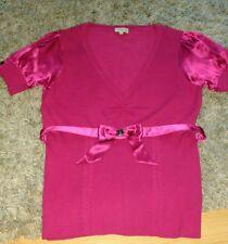 Karen millen size 3(equal to 12) pink top