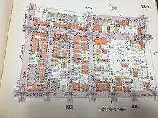 1929 E. BELCHER HYDE GRAVESEND - STILLWELL THEATRE BROOKLYN NEW YORK ATLAS MAP