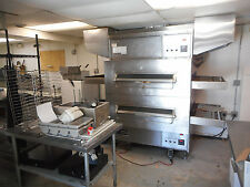 Complete Pizza Shop with Middleby Marshall Double Gas Conveyor Oven, PS 360, 40""