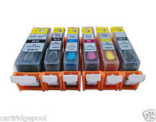 Refillable ink cartridges for Canon PGI-225 CLI-226 MG6120 MG6220 MG8120 MG8220