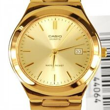 CASIO MEN'S MTP1170N-9A ANALOG GOLD TONE STAINLESS STEEL WATCH2