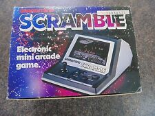 SCRAMBLE HANDHELD TABLETOP GAME GRANDSTAND 100% COMPLETE BOXED 1982 WORKING